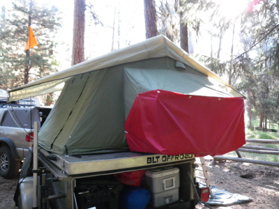 Keeps the heater safely away from the sleeping bag. & Sure-Fire Ways to Improve Your Roof Top Tent - Expedition Portal